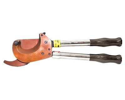 伸缩棘轮式电缆剪